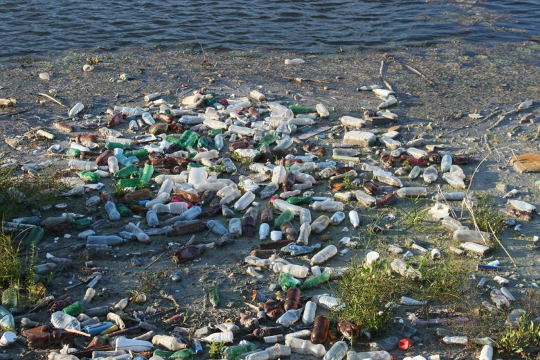 plastic pollution infiltrated remote island
